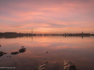 Ravenswaaij voor zonsopkomst