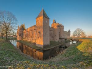 Middeleeuws Kasteel Doornenburg