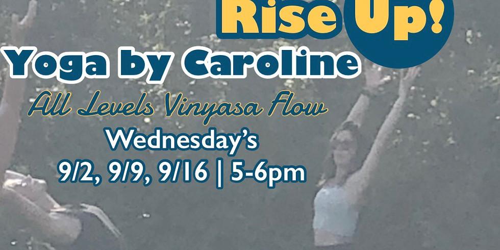 9/2- Yoga by Caroline