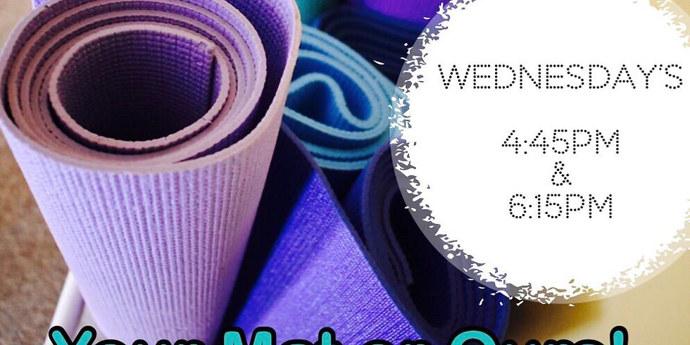 11/13-4:45pm Yoga By Caroline