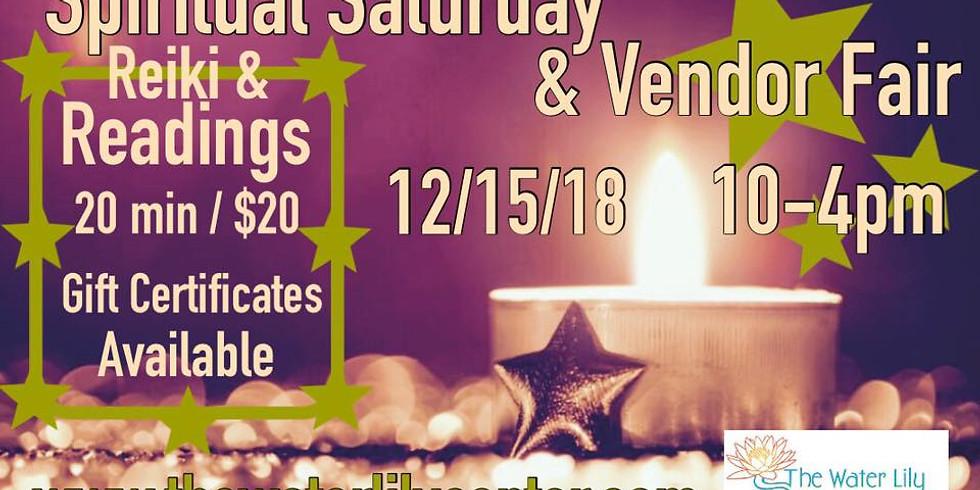 Spiritual Saturday: Readings, Reiki and Vendor Fair