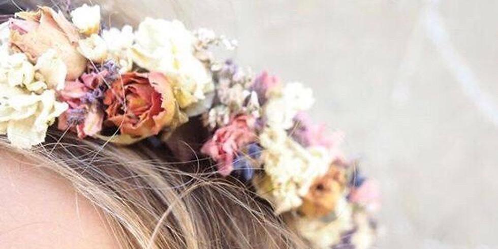 Create a Flower Crown & Meditation