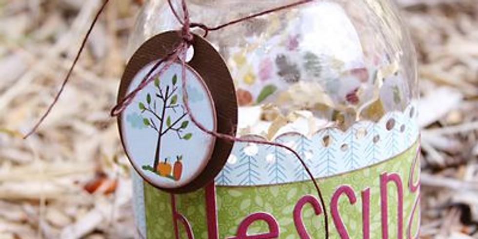 Kids Class: Make a Blessings Jar