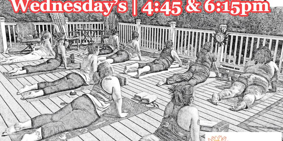 8/21-4:45pm Yoga By Caroline