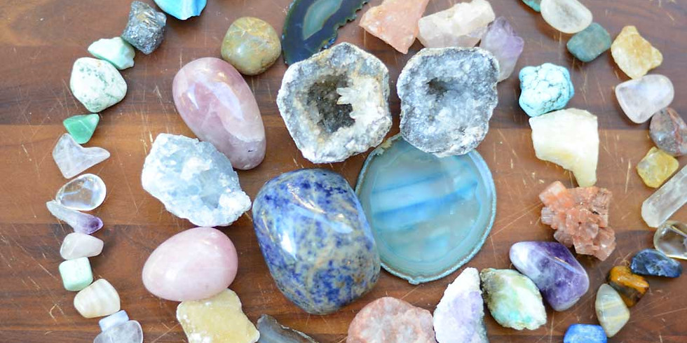 Snazzy Stones and Rad Rocks: A Crystals Class for Kids!
