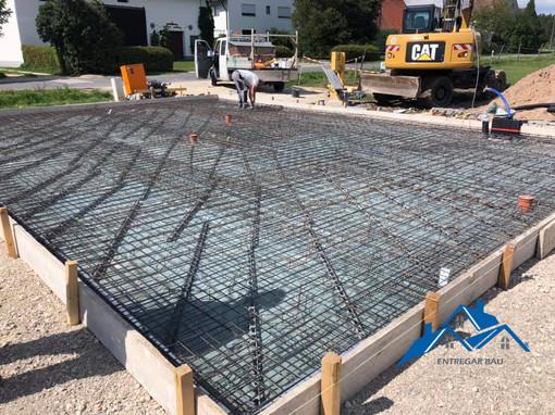 Vasbeton szerelés, betonozás