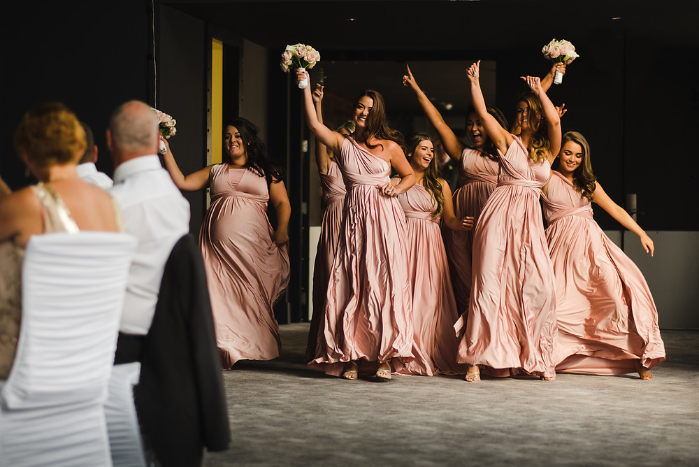 wedding planner london - bridesmaids at wedding