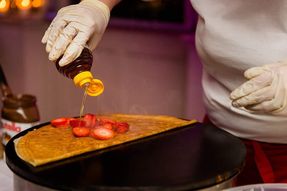 London wedding crepes - Nulyweds - London wedding planner
