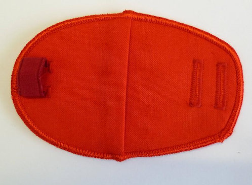 Red Children's & Adult's Fabric Reusable Eye Patch