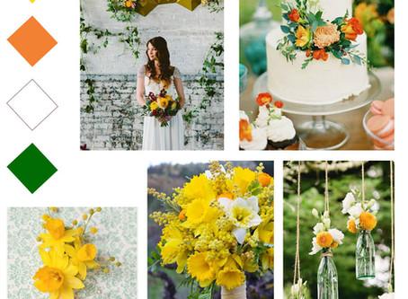 5 Spring Wedding Colour Schemes You'll Love