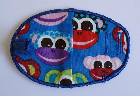 Cheeky Monkeys Children's Fabric Reusable Eye Patch