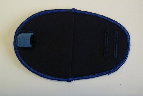 Navy Children's & Adult's Fabric Reusable Eye Patch
