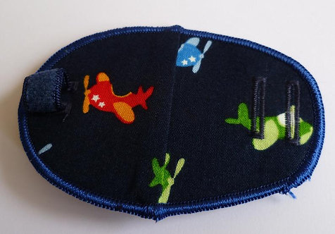 Airplane Children's Fabric Reusable Eye Patch