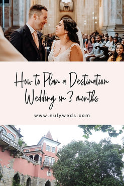 how to plan a destination wedding in 3 m