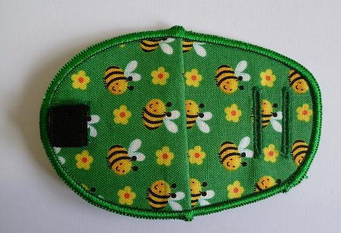 Busy Bees Children's Fabric Reusable Eye Patch