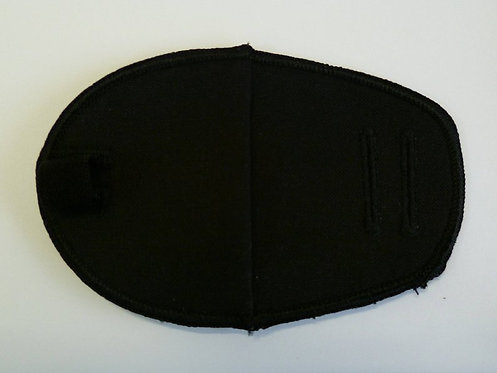 Black Children's & Adult's Fabric Reusable Eye Patch