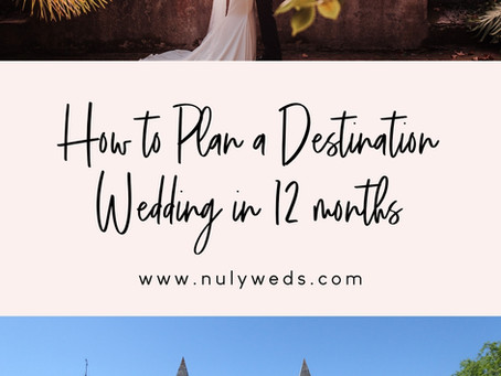 How Long Does It Take To Plan A Destination Wedding?