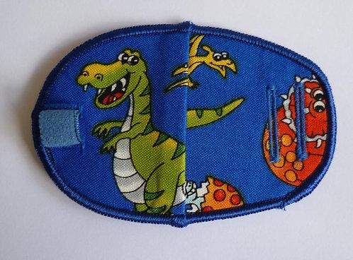 Dinosaurs Children's Fabric Reusable Eye Patch