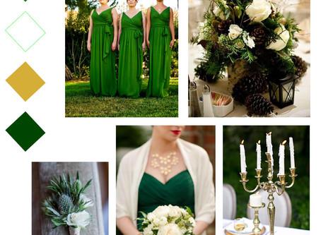 5 Alternative Winter Wedding Colour Schemes You'll Love