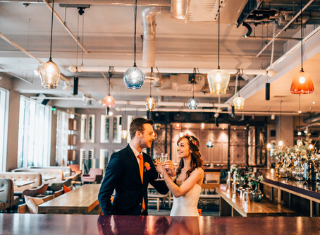 Bright Colours, Big City Styled Shoot