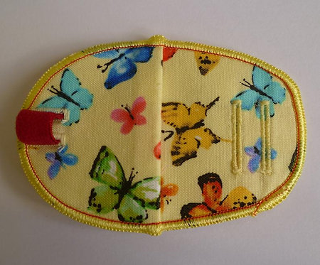 Butterfly Children's Fabric Reusable Eye Patch