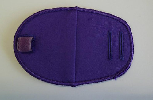 Purple Children's Fabric Reusable Eye Patch