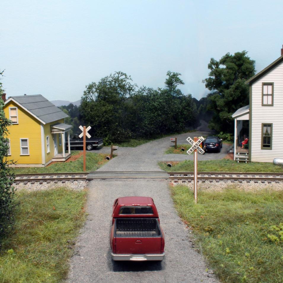 North Railroad Street in Tate, GA.