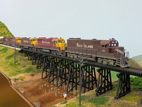 Modeling the Rock Island Railroad