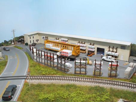 How to model a modern lumber yard