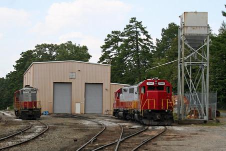 GNRR Locomotive Facility