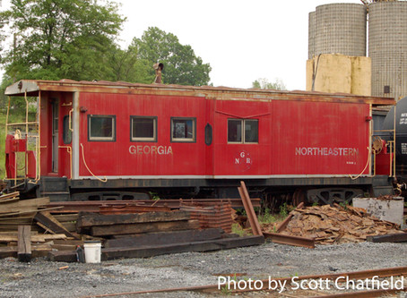 The lonely caboose