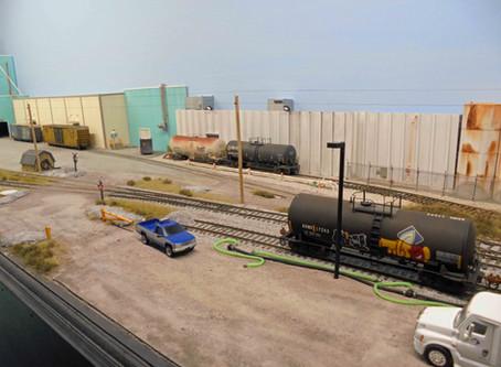 John Farrington's Railserve layout