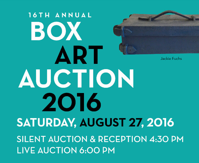 Box Art Auction Invitation