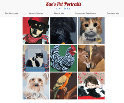 Sue's Pet Portraits