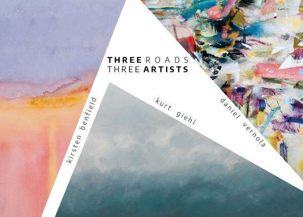 Three Roads Three Artists
