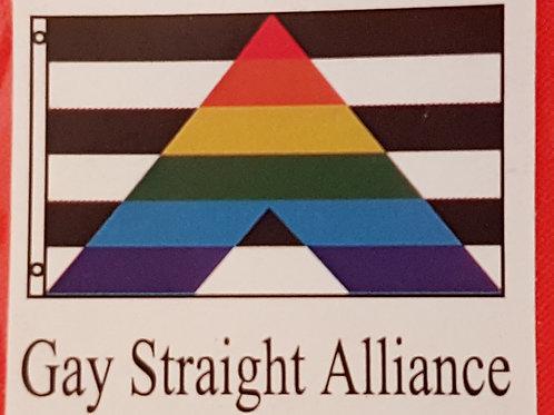 Gay Straight Alliance Flag