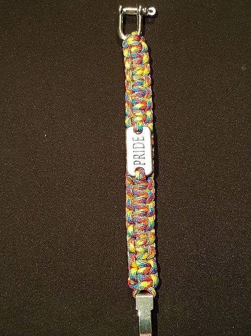 Parachord Rainbow Bracelet