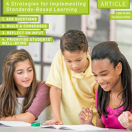 4 Strategies for implementing standards-