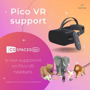 CoSpaces & xSpaces on Pico VR