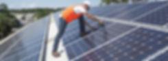 solar panel installation, solar panel repairs