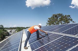 Solární panely Instalace
