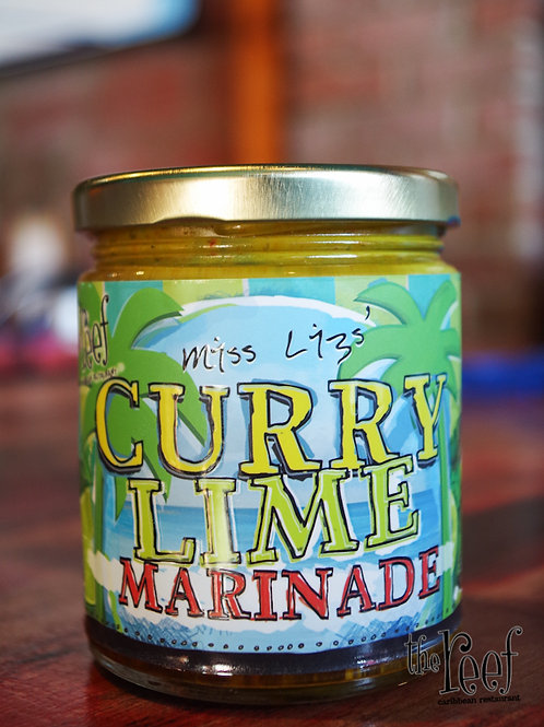 Miss Liz's Curry Lime Marinade
