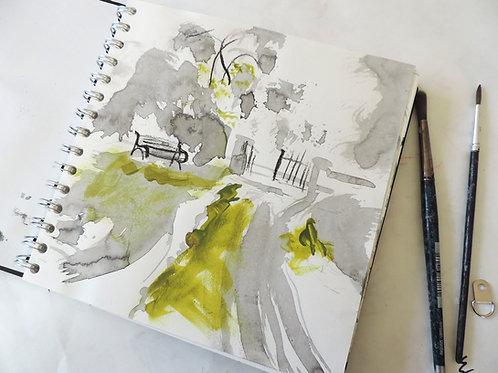 Watercolour Techniques Course