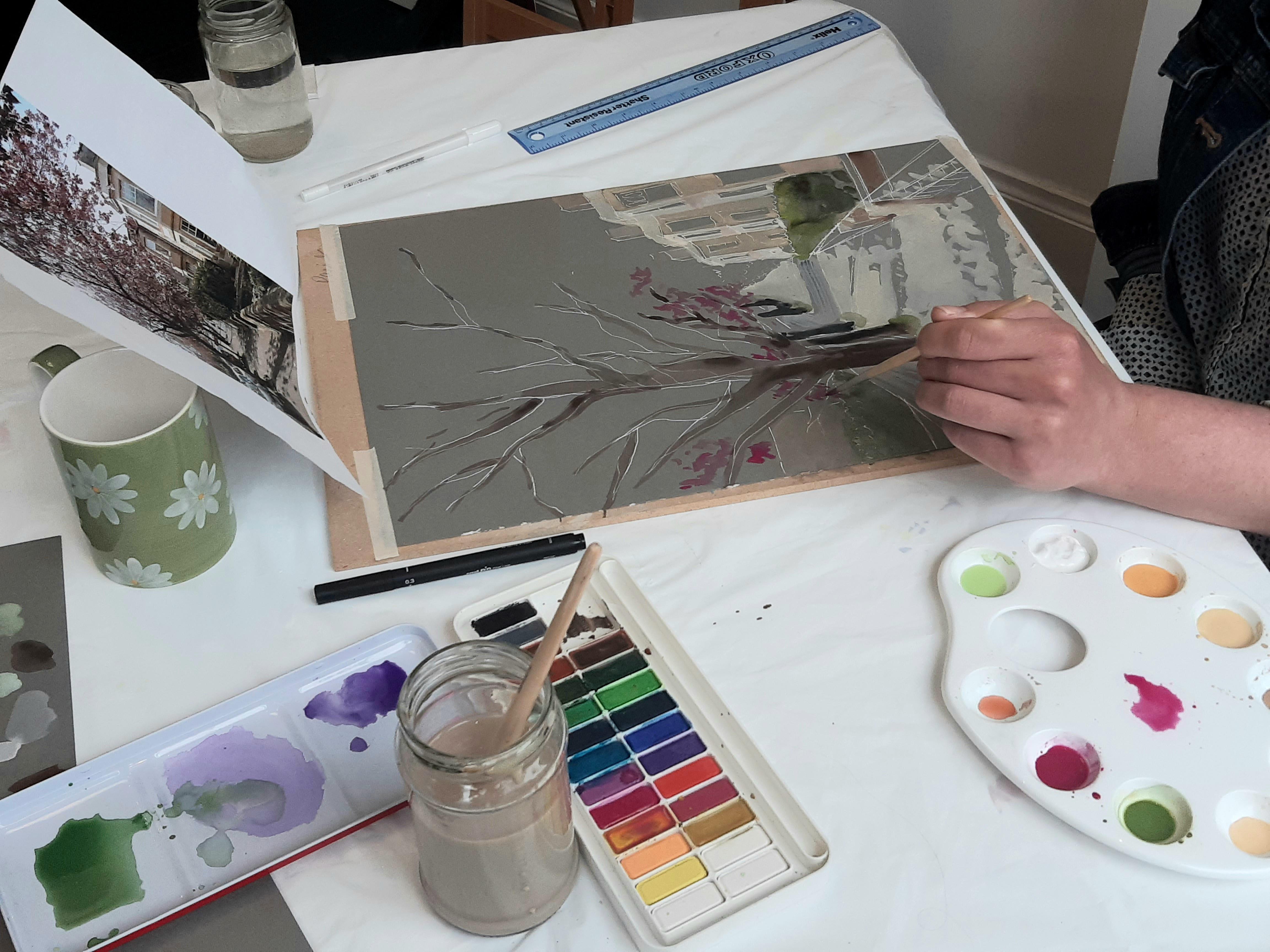 Contemporary Watercolour Techniques