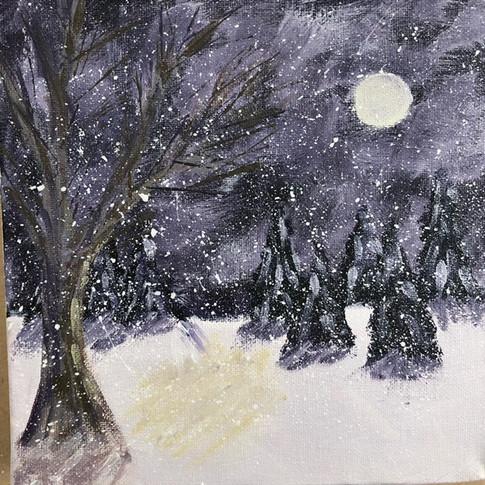 More winter workshop canvases