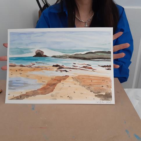 Watercolour class week 2