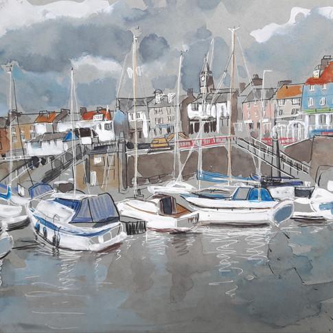 Boats at North Berwick