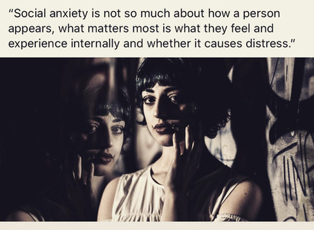 Social Anxiety doesn't always Look how we Think