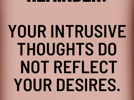 Myths about intrusive thoughts