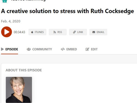 You are not a frog: A creative solution with Dr Ruth Cocksedge